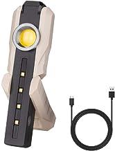 Multifunctionele COB Work Light White/Warm Wit/UVC desinfectie Lamp LED zaklamp UVC Portable Lantern USB oplaadbare