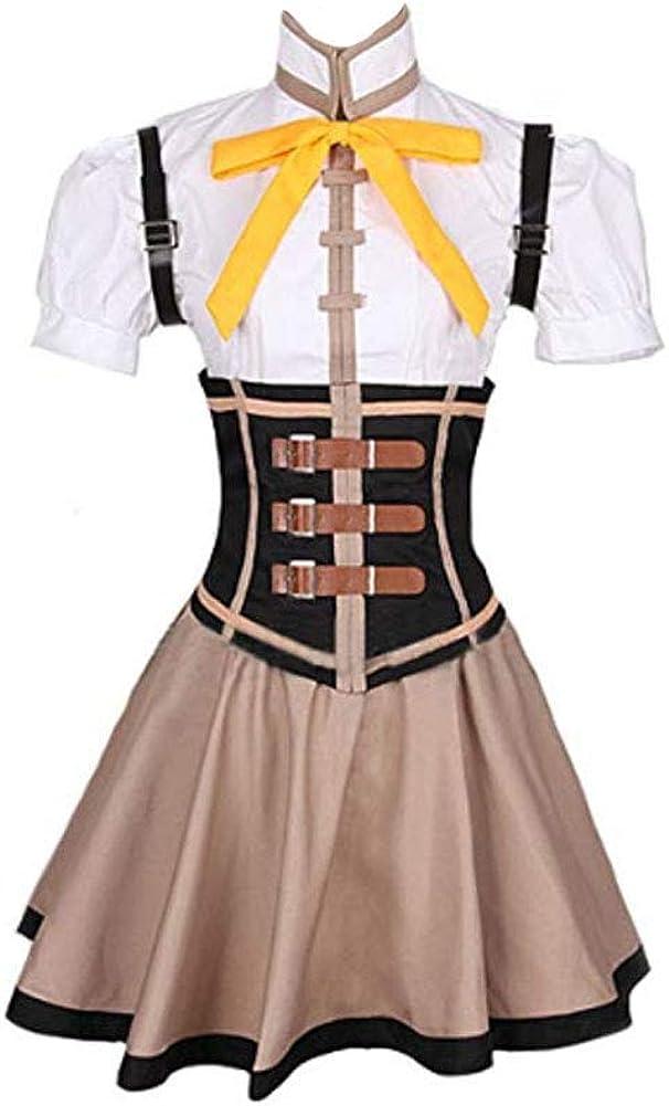 Yi Fang Tomoe Mami Cosplay Dress San Diego Mall Costume Superior Uniform Halloween