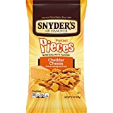 Snyder's of Hanover Pretzel Pieces, Cheddar Cheese, 12 Ounce (Pack of 12)