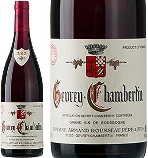 2012 ジュヴレ シャンベルタン アルマン ルソー 赤ワイン 辛口 750ml Armand Rousseau Gevrey Chambertin [並行輸入品]