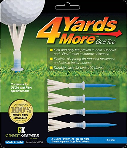 4 Yards More Golf Tee – 3 1/4″ Driver