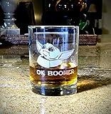Lplpol Baby Yoda OK Boomer DOF/Vaso de whisky