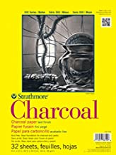 Strathmore 300 Series Charcoal Pad, White, 9