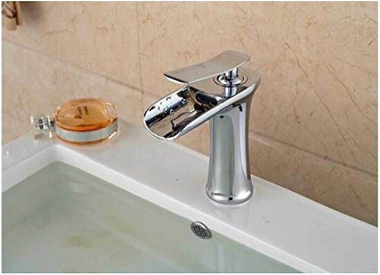 Wasserhahn Retro Mischerhahn Des Küchenbadezimmers Chrom Waschbecken Design Vanity Sink Wasserhahn Mischer Wasserfall Heien Und Kalten Wasserhhne Für Becken Badezimmer