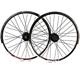 GJZhuan Ruedas Bicicleta Carretera, 20 Pulgadas 406 Rueda Delantera Rueda Trasera BMX 100 / 135mm 32 Hoyos V Freno/Disco de Freno 8/9 Velocidad del Cassette del Trasero (Size : Disc Brake)
