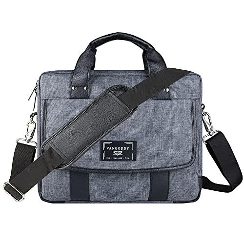 17 17.3 Inch Laptop Messenger Bag Business Travel Briefcase Shoulder Bag for Razer Blade Pro 17, HP ENVY, for Inspiron 17 3000 VivoBook Pro 17 ROG ZEPHYRUS S ThinkPad P71 P72