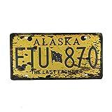 Alaska Etu870 Maseratl Metall Zeichen Poster Wandtafel