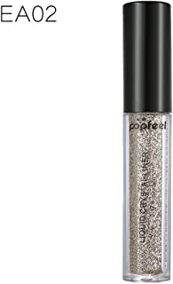 FantasyDay Metallic Glitter Liquid Crystal Liner Waterproof Sparkling Eyeshadow Shimmer Liquid Eye Shadow Glow Eye Liner Diamond Shining Liner For Face, Eyes, Lips, Body Makeup and Nail Art #2