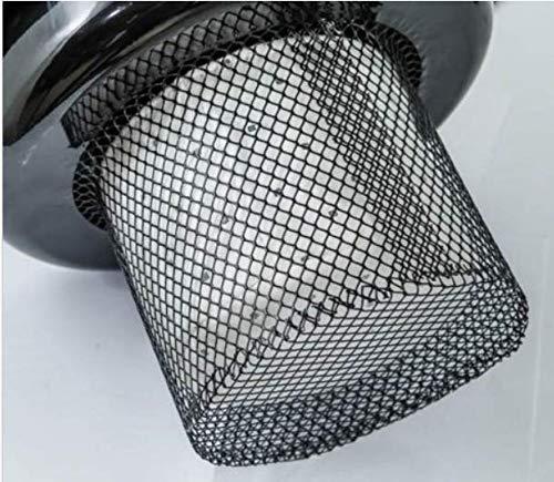 Rowi Stofffilter/Ersatzfilter/Filter für Aschesauger RAS 800/20/2 F Inox Premium
