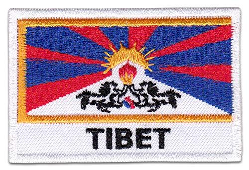 Parche para planchar con diseño de Buda Dalai Lama con bandera de yoga y hippie, alternativo, para planchar
