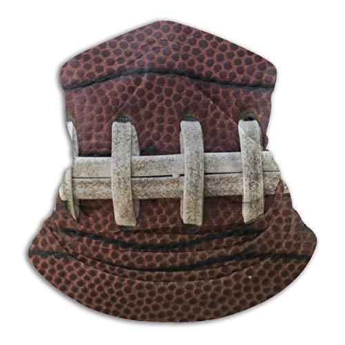 zjipeung American Football Fleece Halswärmer-reversibler Halsmanschettenschlauch, Vielseitigkeit Ohrwärmer Stirnband für Männer und Frauen