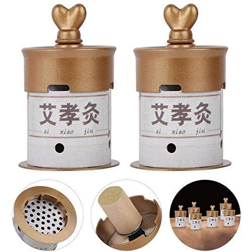 SONGTAO 1 Set Moxa Box Nuevo Quemador De Barra Moxa A Prueba De Fugas Soporte De Tratamiento Térmico De Moxibustión Heathy Care