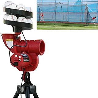 Trend Sports Heater Sports Slider Curve Lite-Ball Machine with Bonus Feeder &