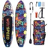Tabla de surf de remo, hinchable, 320 x 83 x 15 cm,...