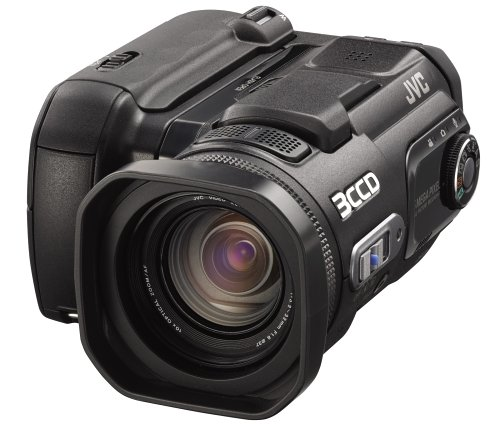 JVC Everio GZ-MC500EK Digital Media Camcorder [5MP,10xOptical Zoom]