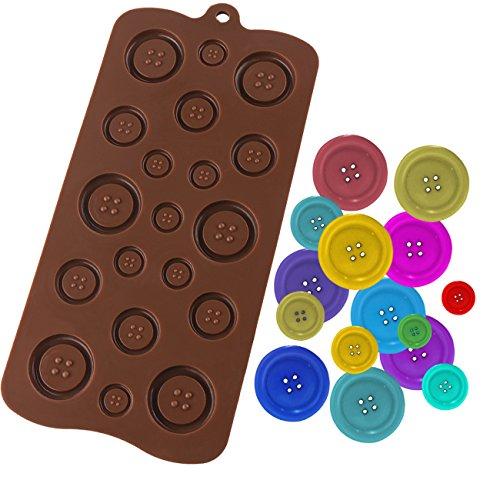 Luxbon knoppen siliconen vorm voor fondant chocolade suikerversiering cupcakes DIY