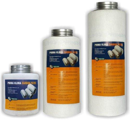 Prima Klima Industry Line Filter 180m3/280m3 100mm Flansch Aktivkohlefilter Grow AKF