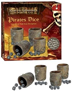 USAOPOLY Pirates of The Caribbean Pirates Dice