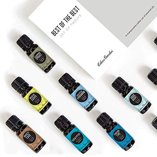 Edens Garden Best Of The Best Essential Oil 12 Set, Best 100% Pure Aromatherapy Beginners Kit (For Diffuser & Therapeutic Use), 10 ml