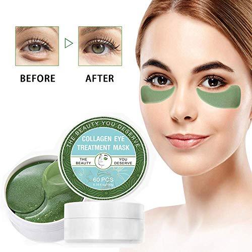 Eye Mask, Augenpads, Sinicyder Anti Aging Pads, Collagen Treatment Algen-Eye Mask, Entfernen Taschen Dunkle Kreise Puffiness, Feuchtigkeits, Anti Falten, Müdigkeit Lindern Eye Mask 60 pcs/box