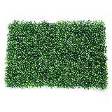 Césped de la Pared de la Planta Artificial 40x60cm Home Garden Shop Compras Mall Decoración del hogar Alfombra Verde (Color : Green, Size : 40 * 60CM)