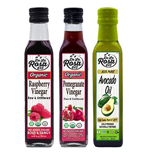 (Kupon Diskon 15%) Varietas Minyak & Cuka Non-GMO 3-Pack $ 21.91