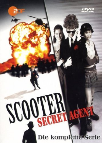Scooter - Secret Agent - Die komplette Serie - (4 DVD-Set, German Release)