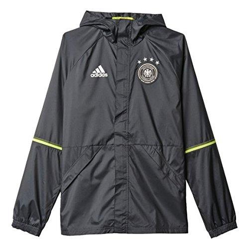 adidas DFB Chaqueta Impermeable EM 2016 Hombre - Gris Oscuro, S - 46