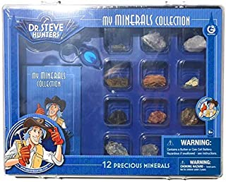 Dr. Steve Hunters My Minerals Collection – 12 Real Minerals