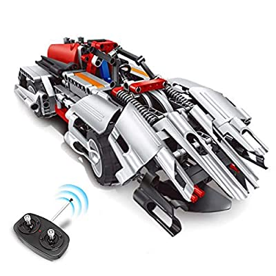 RC Car for Kids Engineering Toys, Educational STEM Gift for Boys & Girls, RC Racer Building Blocks Set, Creative Construction Learning Kit for Kids Age 7-15 Year-Old |Top Birthday Teen Gifts Idea