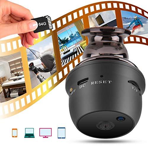 JULYKAI Überwachungskamerasystem, Mini Micro WiFi Überwachungskamera CCTV Weitwinkel 1080P High Definition Objektiv CCTV Kamera