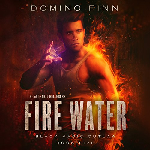 Fire Water audiobook cover art