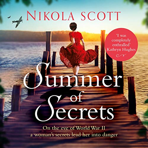 Summer of Secrets audiobook cover art