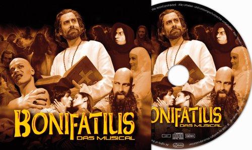 BONIFATIUS-Das Musical mit Ethan Freeman; Neuauflage Fulda 2006; Geschichte des Wynfried von Crediton