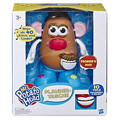 Playskool E4763100 Mr. Potato Head - Bolsa para Juguetes interactivos electrónicos para niños a Partir de 3 años, Multicolor