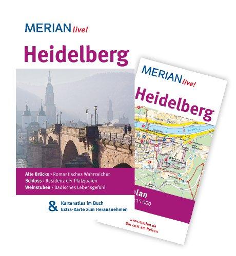 Image of MERIAN live! Reiseführer Heidelberg: Mit Kartenatlas im Buch und Extra-Karte zum Herausnehmen