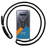 Personaliza tu Funda Colgante Transparente para Xiaomi Black Shark 4 5G con Cordon Negro Dibujo Personalizada
