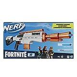 Nerf Fortnite IR Blaster motorizado – Réplica de Blaster Fortnite Blaster – 6 Dardos Desmontables Nerf Elite