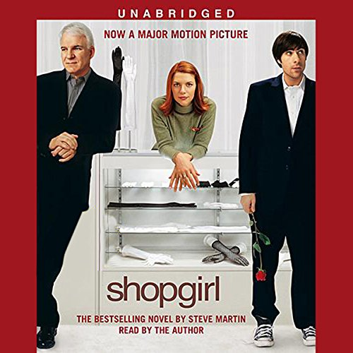 Shopgirl audiobook cover art