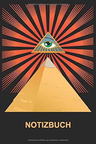 Notizbuch: Ägypten Notizbuch - Tolles Pyramide Notizbuch - 120 linierte Seiten um Gedanken, Ideen und Wünsche festzuhalten   DINA5   kreatives Götter ... Tolle Geschenkidee für kreative Menschen