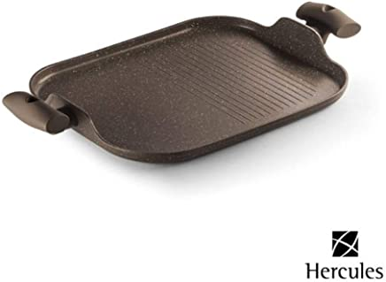 Frigideira E Grill Antiaderente Cerâmico E Alça Soft Touch Pa300-g34ma Hercules