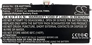 XPS Replacement Battery Compatible with ASUS EE Pad TF700, TF700T, Transformer PAD TF700 PN C21-TF301