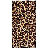 JULOE Toalla Animal Leopard Print Toalla de Mano Altamente Absorbente para el hogar Cocina Baño Gimnasio Swim SPA