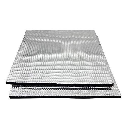 Cnloyua 2 Stück 300x300mm 3D-Drucker Heizbett Isolierung plattform Heißbett, Für Anycubic i3 Mega, Creality Ender 3, Anet A8, Lulzbot Taz CR10 Tevo Mega