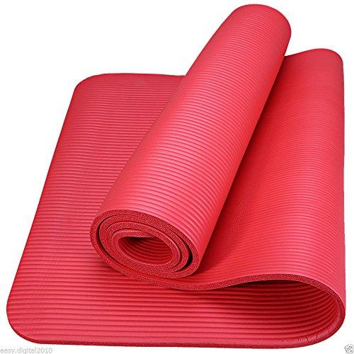 Yoga Mat 15 mm Dikke Oefening Fitness Physio Pilates Camping Gym Matten Niet Slip