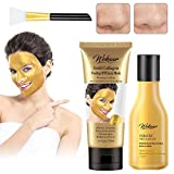 Gold Face Mask Anti Aging Mask & Gold Face Lotion Emulsion, Gold Peel-off