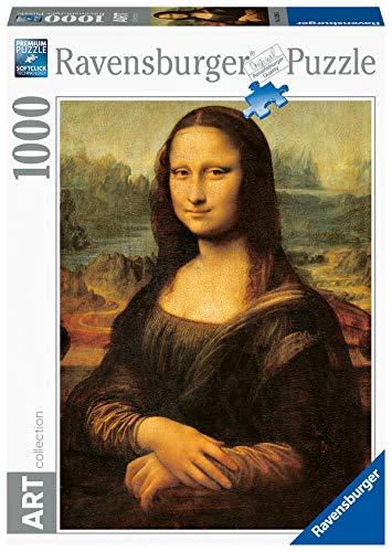 Ravensburger Puzzle 1000 Piezas, Leonardo: La Gioconda, Arte, para adultos, Rompecabezas de calidad