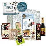 Set regalo asiatico 'Sushi Box'   grande regalo per gli intenditori di sushi   Prepara il sushi tu stesso Regalo di compleanno Regalo di Natale Self Made Sushi