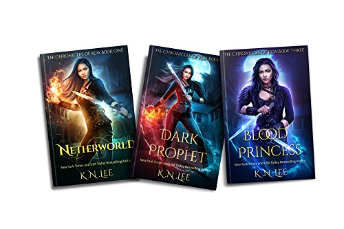 The Chronicles of Koa Boxed Set Books 1-3 Netherworld, Dark Prophet, Blood Princess: A Fallen Angel and Vampire Fantasy
