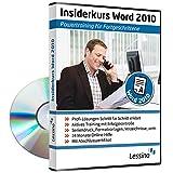 Word 2010 Insiderkurs - Powertraining für Fortgeschrittene | Lernen Sie Schritt für Schritt die effiziente Dokumentbearbeitung z.B. mit Vorlagen, Gliederungen und der Serienbrief-Funktion [1 Nutzer-Lizenz]